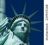 The Statue Of Liberty At New...