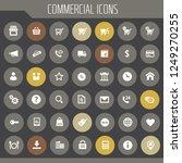 big commercial icon set  trendy ...