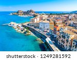 panoramic view of kerkyra ... | Shutterstock . vector #1249281592