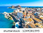 panoramic view of kerkyra ... | Shutterstock . vector #1249281595