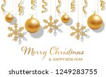 happy new year and merry... | Shutterstock .eps vector #1249283755