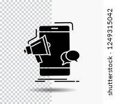 bullhorn  marketing  mobile ... | Shutterstock .eps vector #1249315042