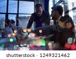 business people work together... | Shutterstock . vector #1249321462
