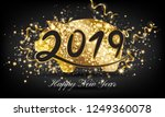 chinese happy new year 2019... | Shutterstock .eps vector #1249360078