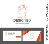 business logo template for... | Shutterstock .eps vector #1249378312