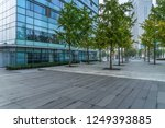 modern buildings and empty... | Shutterstock . vector #1249393885