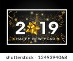 new year typographical cretaive ... | Shutterstock .eps vector #1249394068