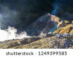 active volcanoes at java island.... | Shutterstock . vector #1249399585