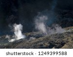 active volcanoes at java island.... | Shutterstock . vector #1249399588
