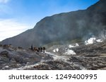 active volcanoes at java island.... | Shutterstock . vector #1249400995