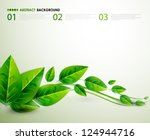 Nature Green Leaves   Vector...