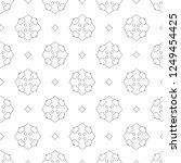 seamless vector pattern.... | Shutterstock .eps vector #1249454425