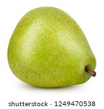 pear isolated on white...   Shutterstock . vector #1249470538