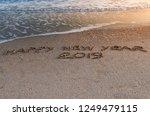 Happy New Year 2019 Written In...