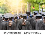 back side view student... | Shutterstock . vector #1249494532