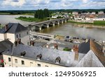 france. ancient city of amboise ... | Shutterstock . vector #1249506925