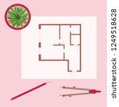 vector illustration with... | Shutterstock .eps vector #1249518628