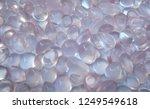 beautiful cabochon rose quartz... | Shutterstock . vector #1249549618