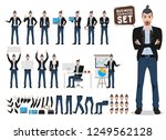 male business character vector... | Shutterstock .eps vector #1249562128