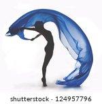 Woman Ballet Dancer Silhouette