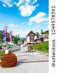view of triberg in schwarzwald...   Shutterstock . vector #1249578592