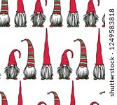 vector seamless pattern with...   Shutterstock .eps vector #1249583818