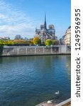 cathedral of notre dame de... | Shutterstock . vector #1249596955