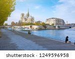 cathedral of notre dame de... | Shutterstock . vector #1249596958