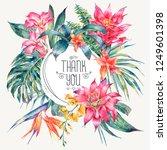 vector template card of... | Shutterstock .eps vector #1249601398
