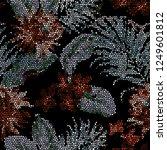 abstract  texture  mosaic ... | Shutterstock . vector #1249601812