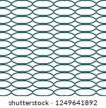 seamless vector pattern in... | Shutterstock .eps vector #1249641892