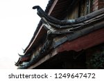 chinese roof style at lijiang... | Shutterstock . vector #1249647472