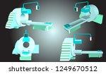 vector mri scanner for... | Shutterstock .eps vector #1249670512