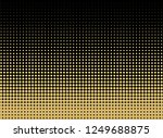 abstract gold dotted background.... | Shutterstock .eps vector #1249688875