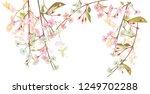 panoramic view  horizontal... | Shutterstock .eps vector #1249702288