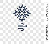 blizzard icon. trendy blizzard...   Shutterstock .eps vector #1249719718