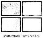 grunge frame.grunge background...   Shutterstock .eps vector #1249724578