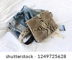 fashion women accessories.... | Shutterstock . vector #1249725628