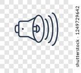 high volume icon. trendy high... | Shutterstock .eps vector #1249729642