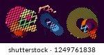 abstract vector background dot... | Shutterstock .eps vector #1249761838