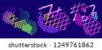 abstract vector background dot... | Shutterstock .eps vector #1249761862
