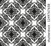 seamless geometric ornamental... | Shutterstock .eps vector #1249767658