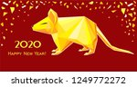 happy chinese new year 2020.... | Shutterstock . vector #1249772272