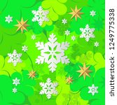 decorative christmas tree... | Shutterstock .eps vector #1249775338