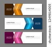 vector graphic design banner... | Shutterstock .eps vector #1249814005