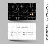black  and gold modern business ... | Shutterstock .eps vector #1249828978