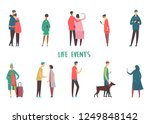 set of isolated people icons at ...   Shutterstock .eps vector #1249848142