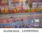 aerial view of famous deoksu... | Shutterstock . vector #1249855042