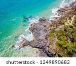 noosa national park aerial view ... | Shutterstock . vector #1249890682