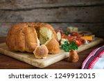 sourdough monkey bread on... | Shutterstock . vector #1249912015